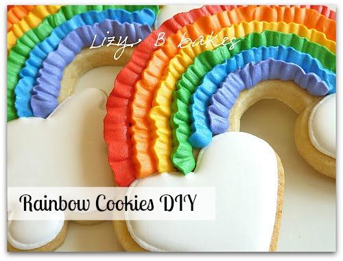 Rainbow Cookies DIY