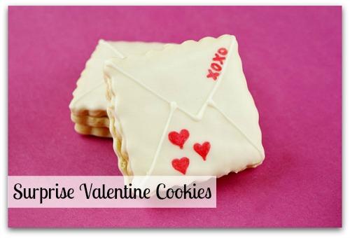 Surprise Valentine Cookies