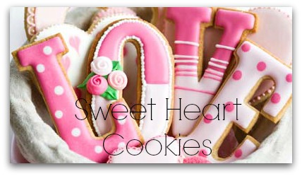 Sweetheart Valentine Cookies