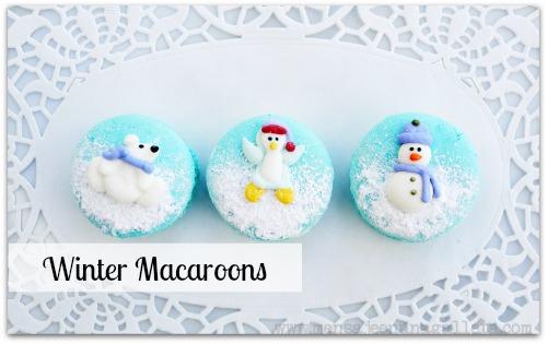 Winter Macaroons