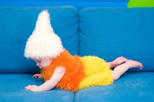 {Sweet Inspiration} Candy Corn Baby