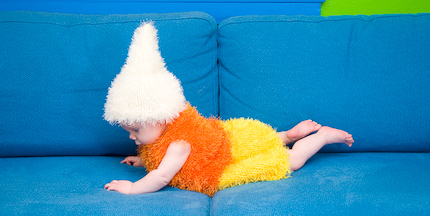 Ravelry: XS Candy Corn Dog Costume pattern by Manda Proell