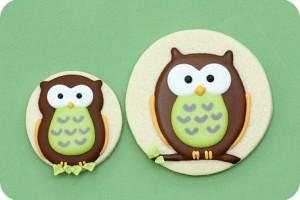 {Sweet Treat} How to decorate owl sugar cookies