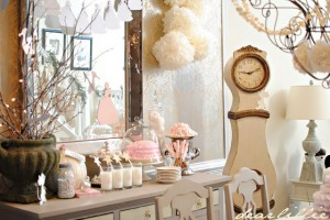{Party Themes} Pink Vintage Cinderella Party