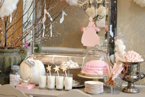 {Party Themes} Pink Vintage Cinderella Party -part 2