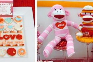"{Party Inspiration}  ""Monkey Business"" Valentine Party"