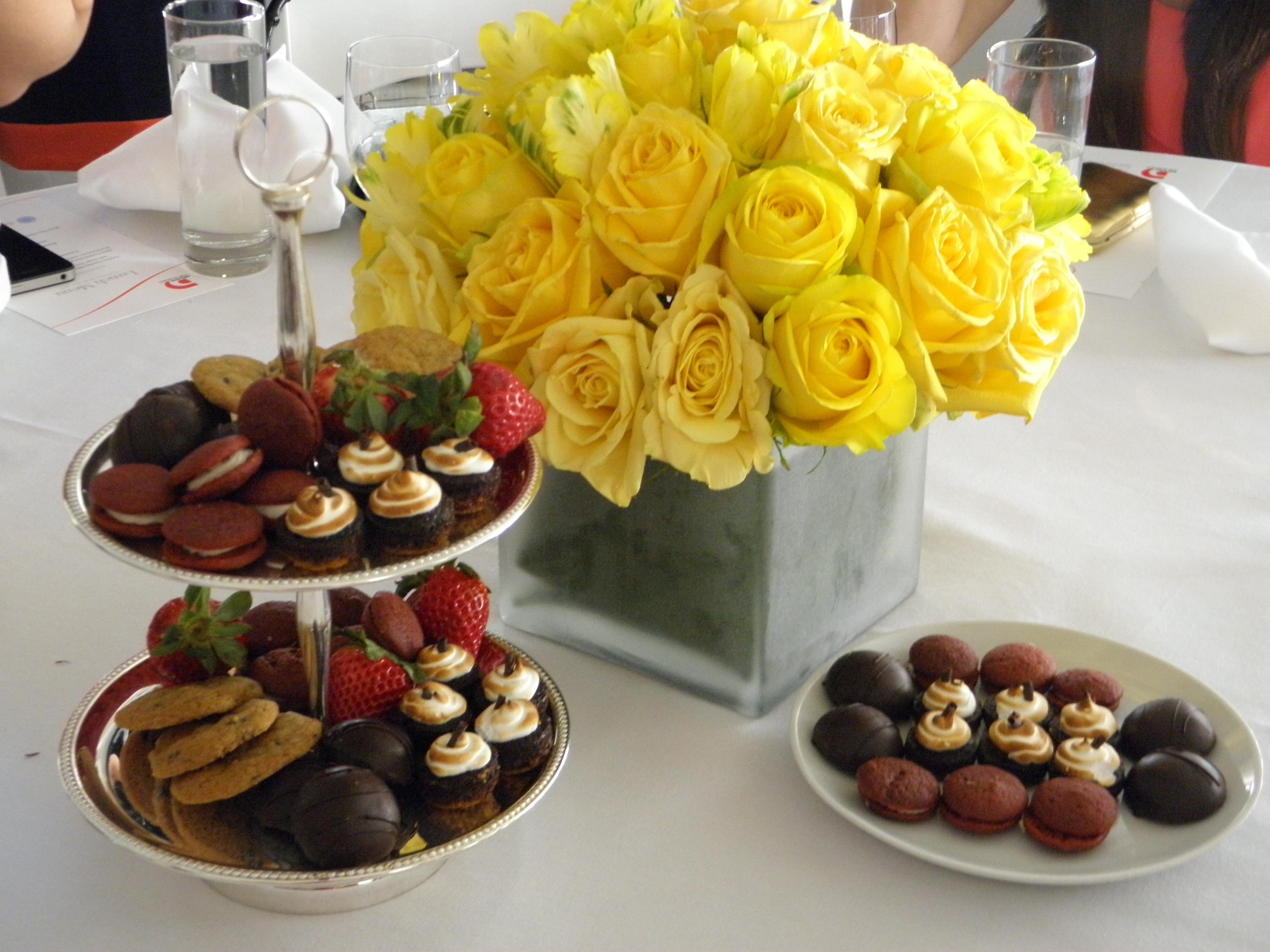 The desserts included Homemade Mini Mallomars, Red Velvet Whoopie Pies ...