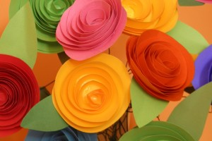 Pretty Paper Flowers how-to