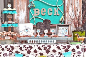 Sweet Lil' Cowboy Baby Shower