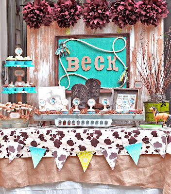 Party Themes} Sweet Lil' Cowboy Baby Shower