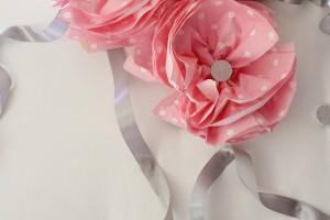 Napkin Flower Poms
