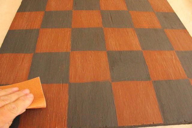 Diy Pumpkin Checker Board Game