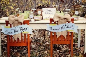 {Sweet Inspirations} Through the Woods Thanksgiving Collection