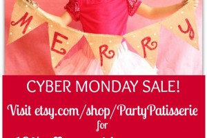 {Cyber Monday} Etsy Shop Sale