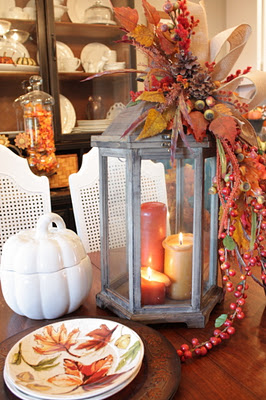 Sweet inspiration fall tabletop decor for Home goods fall decorations
