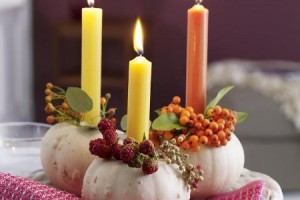 {Sweet Inspiration}  Fall Tabletop Decor