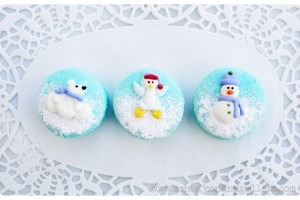 Winter Macaroons