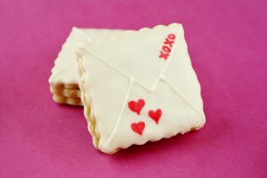 Surprise Valentine Cookies
