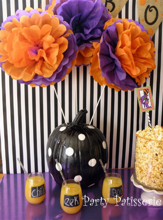 Party_Patisserie_polka dot pumpkin