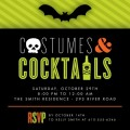 costumed_cocktails-halloween_party_invitations-louella_press-bright_green-green