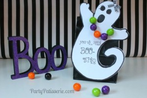 You've Been BOO-Ti-Fied DIY