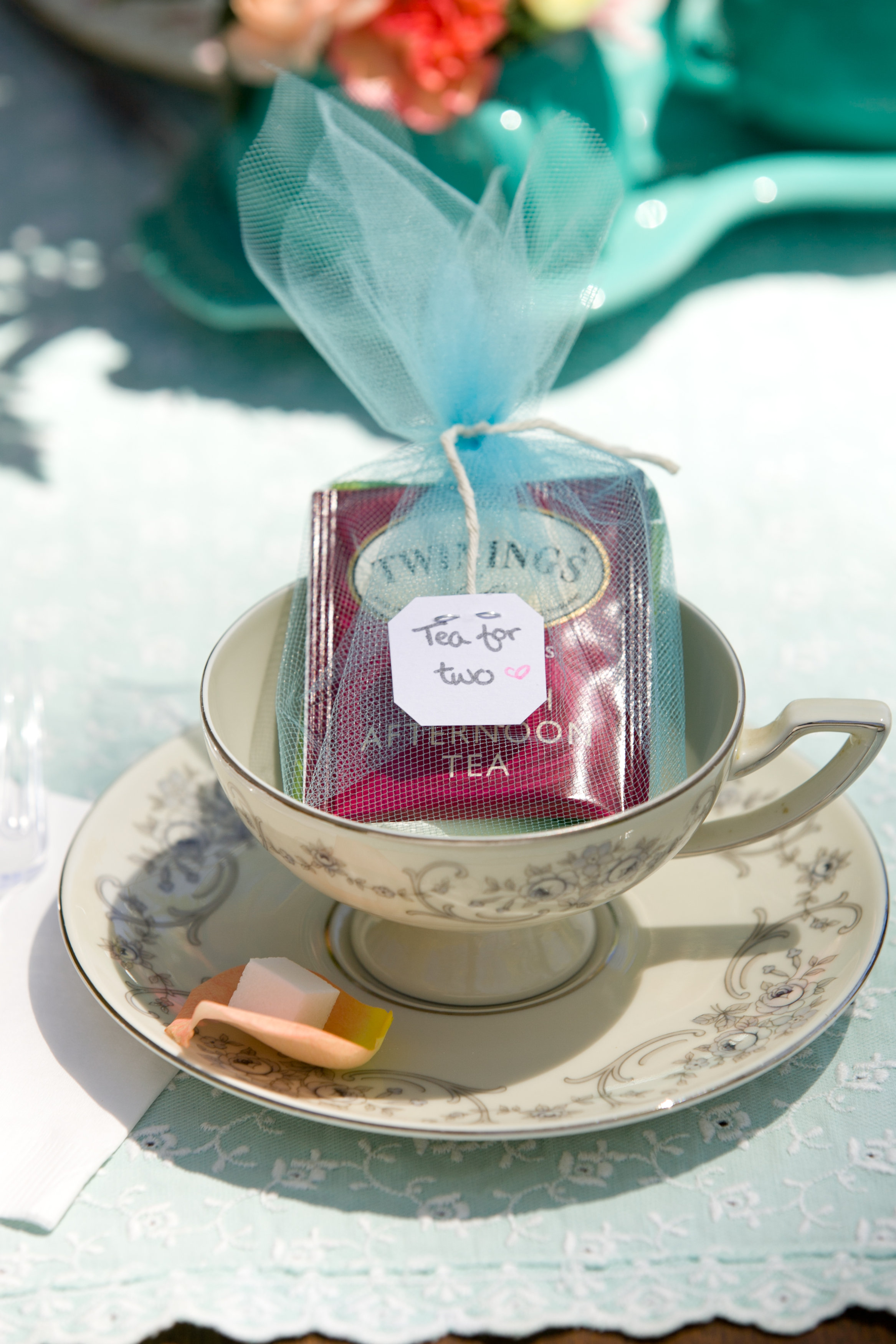Tea For Two A Tea Party Themed Bridal Shower