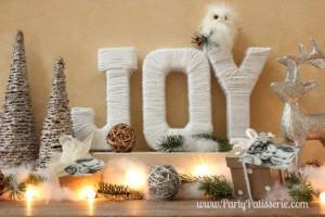 Beautiful Christmas JOY Letters