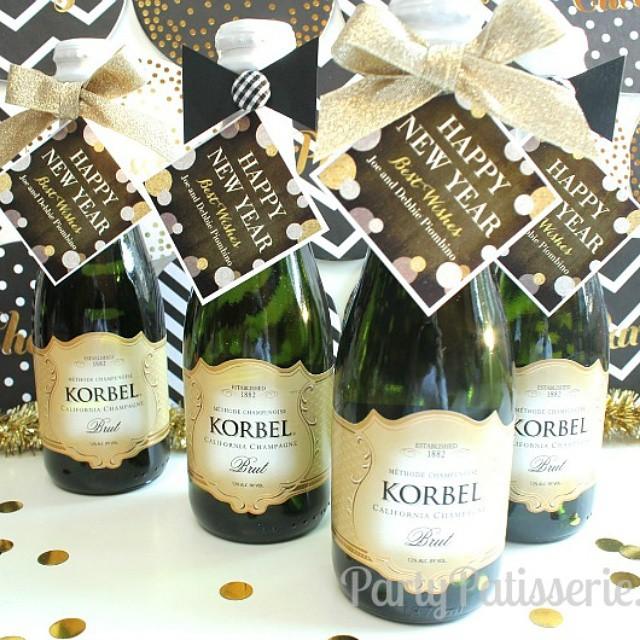 Starting to get things ready for New Year's Eve! Who wants some bubbly?