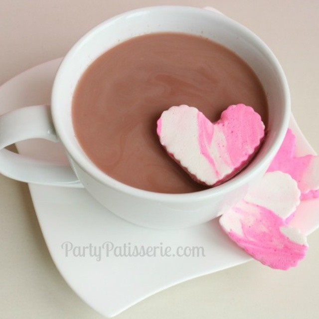 We got even more snow in Chicago last night. Cozying up with a warm blanket and some rich, creamy hot chocolate today! Get the recipe at www.PartyPatisserie.com #snow #hotchocolate #recipe