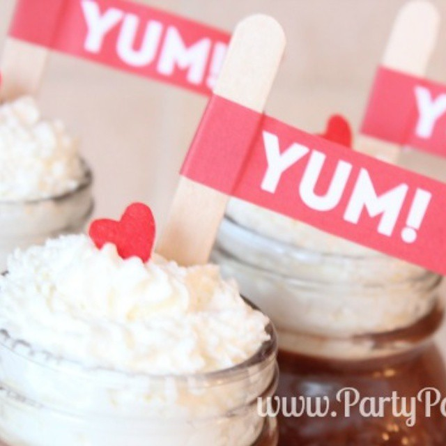 Check out our yummy Chocolate Peppermint Mousse recipe on the blog! PartyPatisserie. com