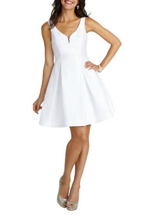 Flare_White_Dress