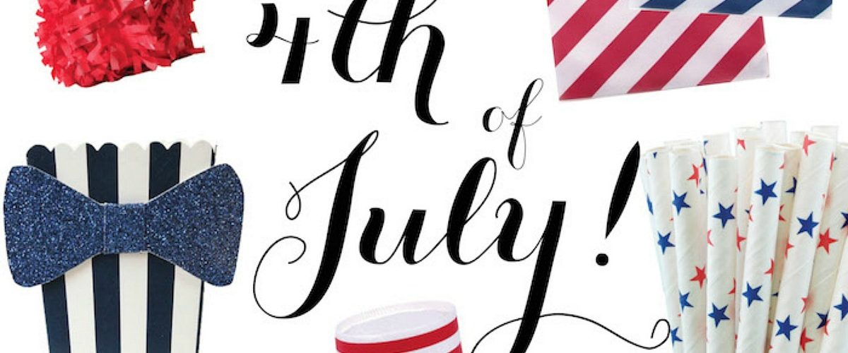 The cutest 4th of July party supplies
