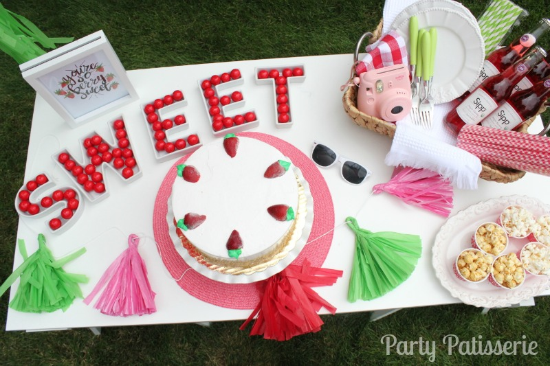 berry sweet birthday party