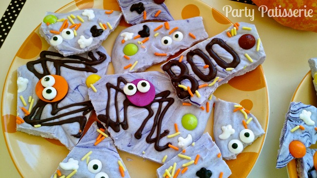 Spooky Spider Halloween Bark