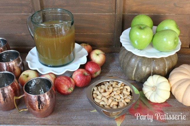 Apple Cider Thanksgiving Decor