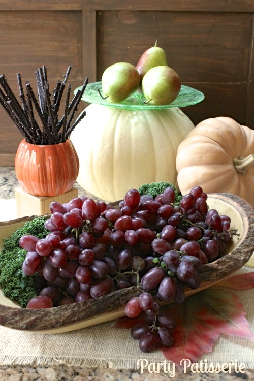 Rustic Thanksgiving Serving Plates