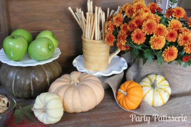 Pumpkins for Thanksgiving Tablescape