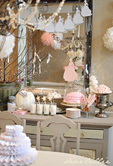 Party Themes Pink Vintage Cinderella Party Part 2