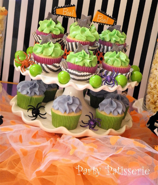 Party_Patisserie_cupcake stand with tutu