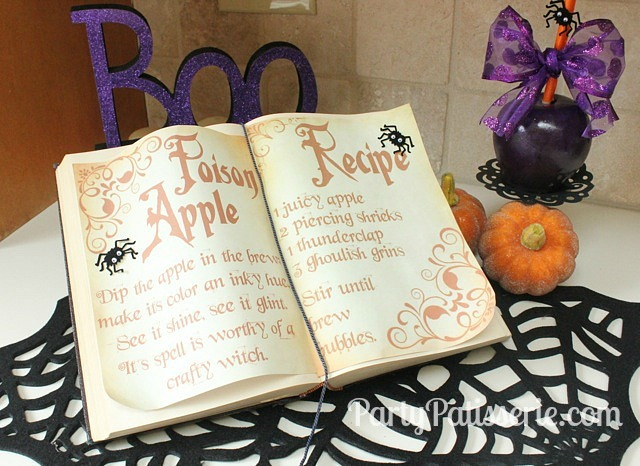Poison_Apple_Book_on_Counter_Zoom_Out