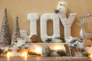 Beautiful Christmas JOY Letters