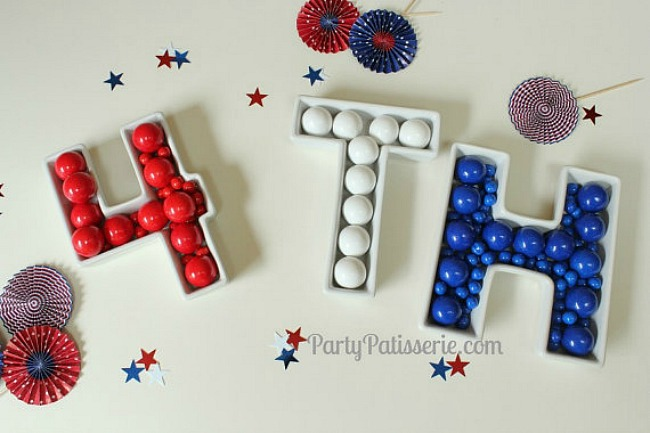 4th_of_July_Letter_Dishes