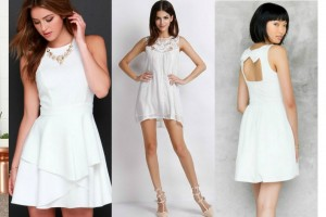 5 must-have little white dresses