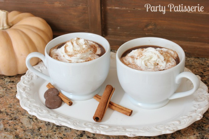 Perfect Autumn Hot Chocolate 1