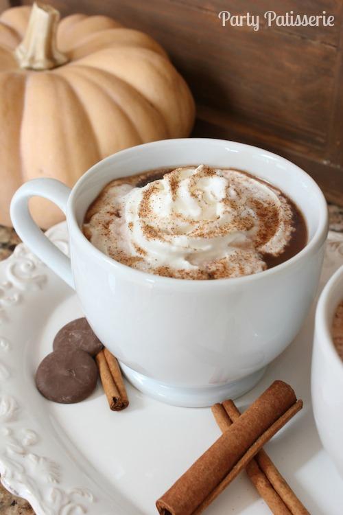 Perfect Autumn Hot Chocolate 2