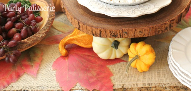 Thanksgiving Rustic Table Runner