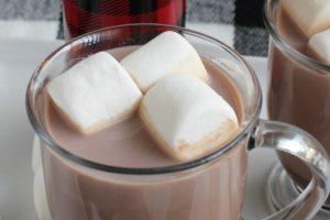 Classic homemade hot chocolate