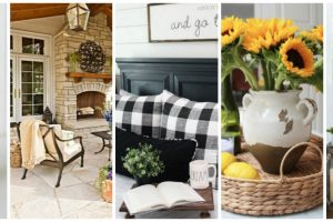 Summer Fall Transitional Decorating